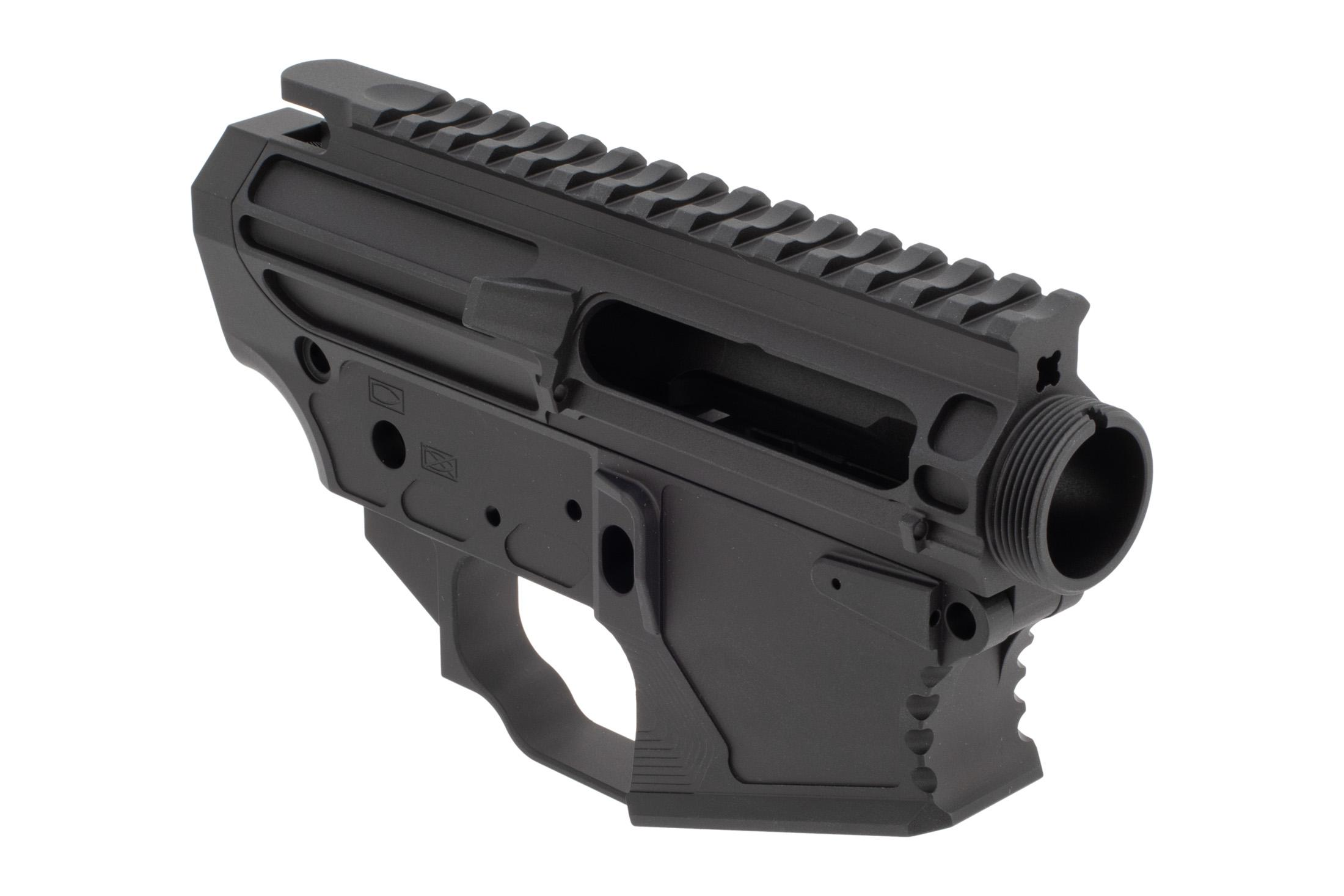 The Next Level Armament NLX Fifteen receiver set features a flat top picatinny rail