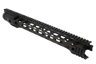 The Fortis Night Rail 16 M-LOK handguard has multiple different options for mounting lights and iron sights