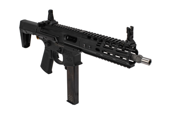 Noveske Rifleworks Space Invader 9mm SBR features an 8.5 inch barrel with integrated 3-lug suppressor mount