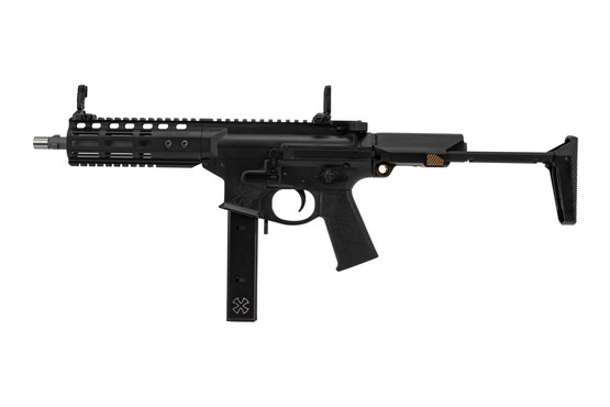 Noveske Space Invader SBR 9mm Colt Mag features fully ambidextrous controls