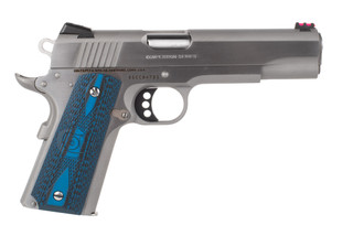 Colt 1911 competition pistol is chambered in 9mm