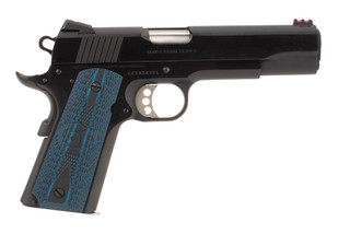 Colt 1911 Series 70 45 acp pistol features a match grade barrel for competition