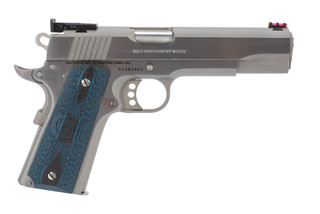 Colt 1911 Gold Cup Lite 45 acp pistol features a 5 inch match barrel