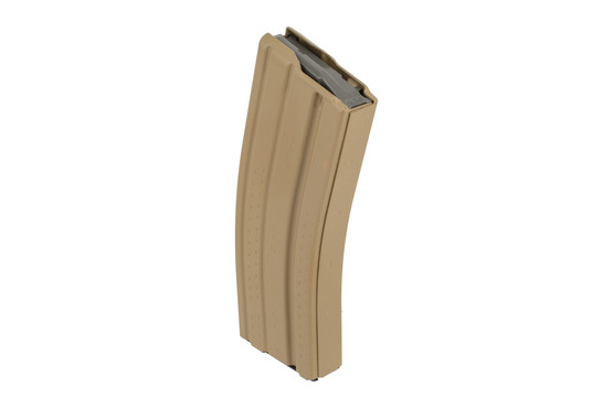 Okay Industries Surefeed E2 magazine is a textured 30-round AR-15 magazine with durable flat dark earth finish