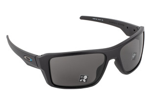 Oakley Standard Issue Double Edge Thin Blue Line Matte Black Glasses have a Unobtanium nosepad