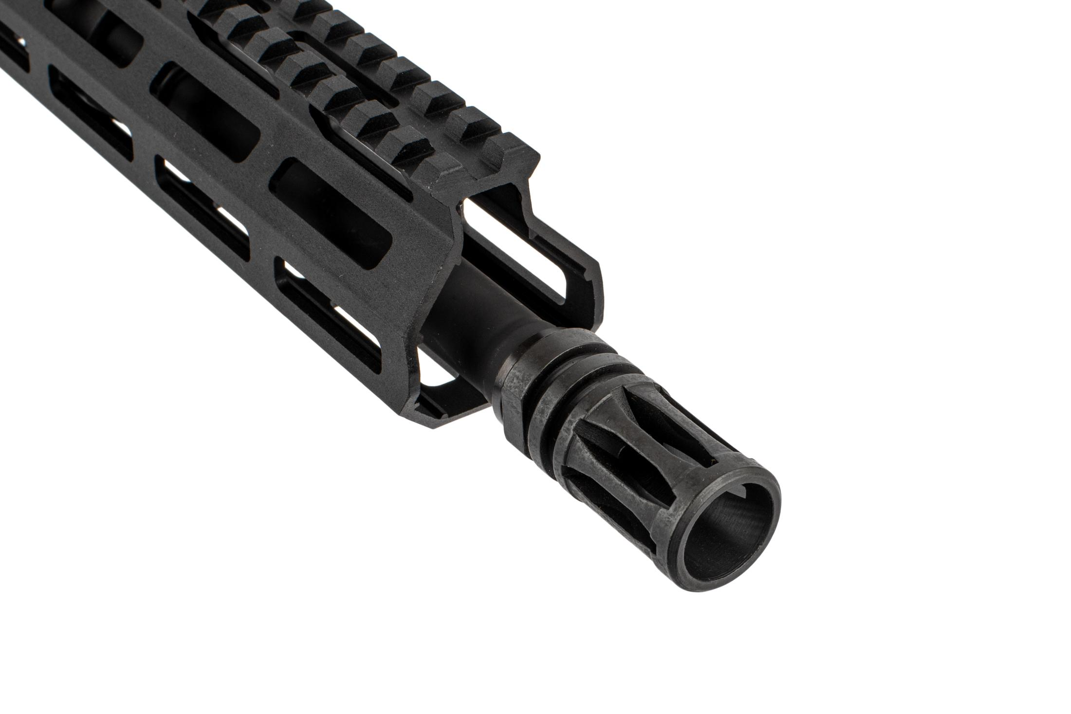 The Del Ton Sierra AR-15 316L complete rifle comes with an A2 flash hider