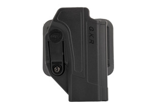 Orpaz Defense Glock Holster features a paddle attachment