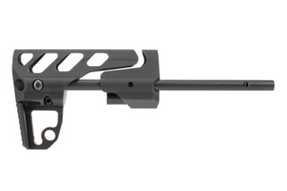 Odin Works close quarters rifle stock with black anodized finish is a lightweight AR-15 PDW stock.