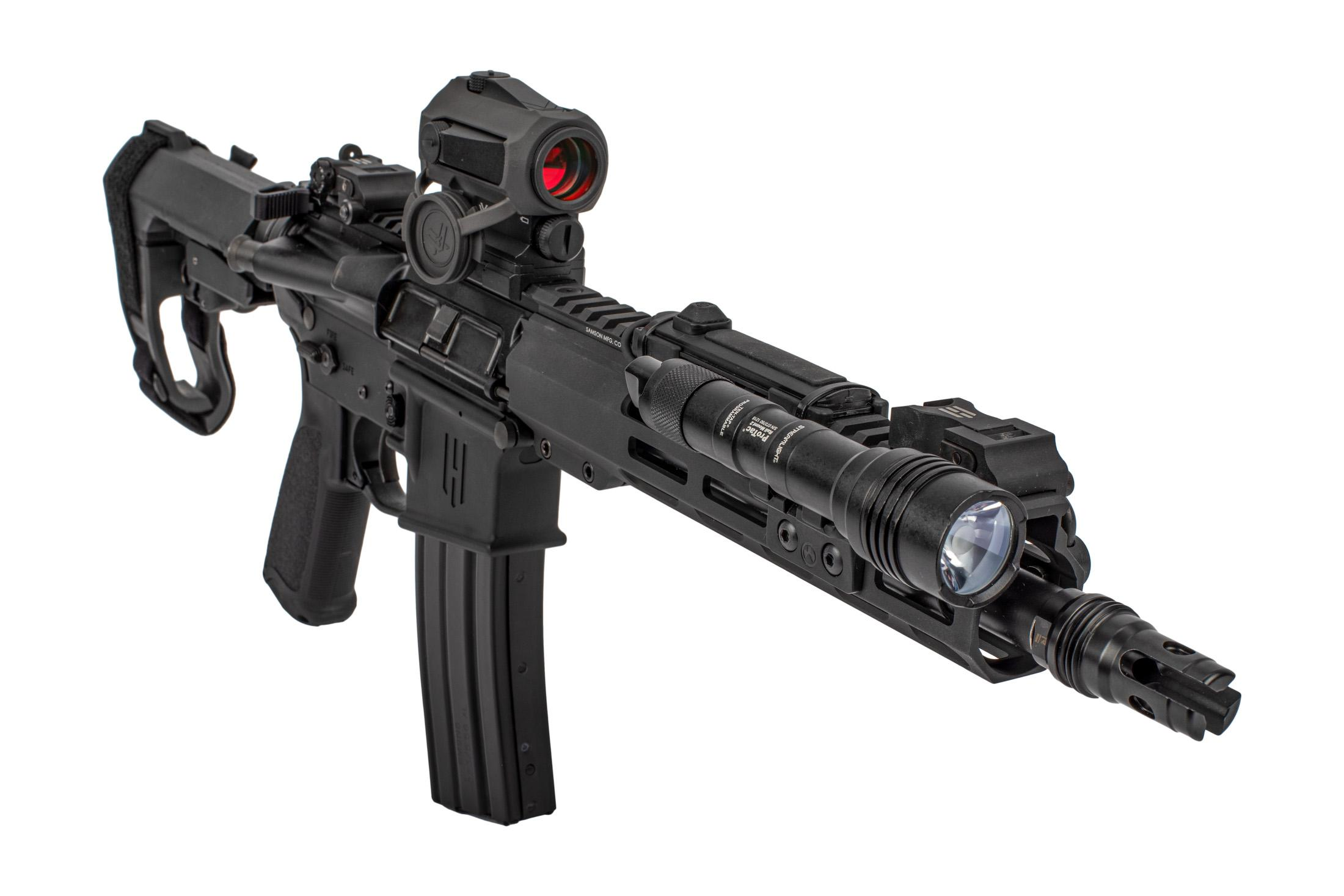 Head Down OTG AR15 Pistol Package features a suppressor mount flash hider