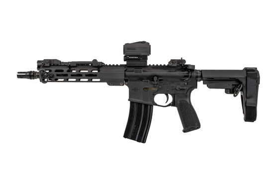 Head Down Firearms AR-15 Pistol features ambi controls and bravo company furniture