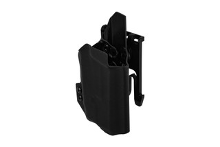 ANR Design Nidhogg CZ P10C light bearing OWB holster is compatible with Inforce weapon lights