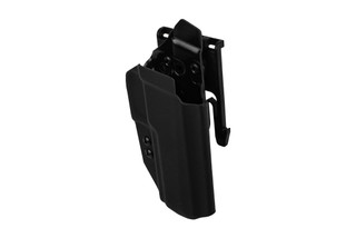 ANR Design Nidhogg SIG P320 OWB holster is made from black Kydex