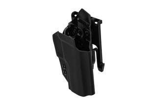 ANR Design Nidhogg SIG P320C OWB holster is made from black Kydex
