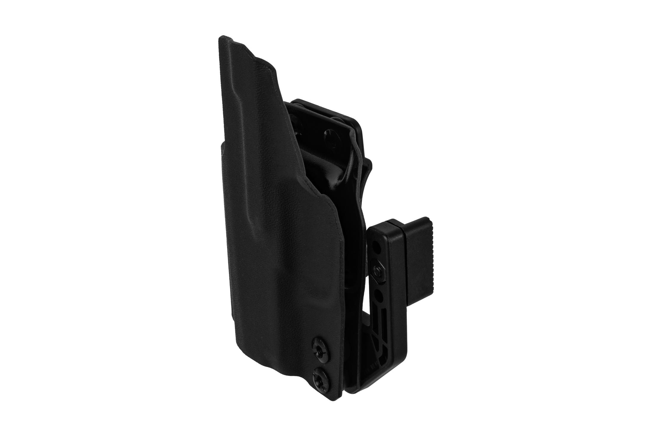 ANR Design SIG P365 Appendix Holster is made from black Kydex