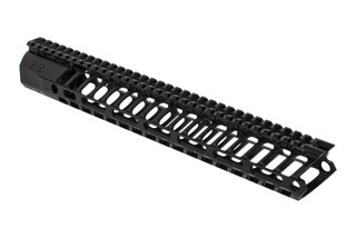 F1 Firearms P7M Lite AR 15 handguard 13.5 features a scalloped picatinny top rail