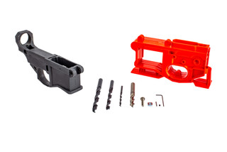 Polymer 80 AR15 80% lower receiver comes in grey