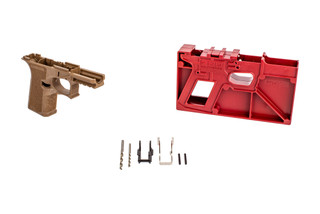 Polymer 80 PF940C Glock Frame Kit comes with a milling jig