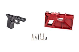 Polymer 80 PF940C compact pistol frame kit comes with the milling jig