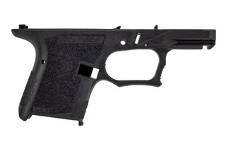 Polymer 80 Sub Compact serialized frame features a black color