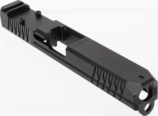 Polymer 80 Glock 17 Slide features a black Nitride finish