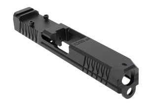 Polymer 80 Glock 19 slide is milled for use with Trijicon RMR red dot sights