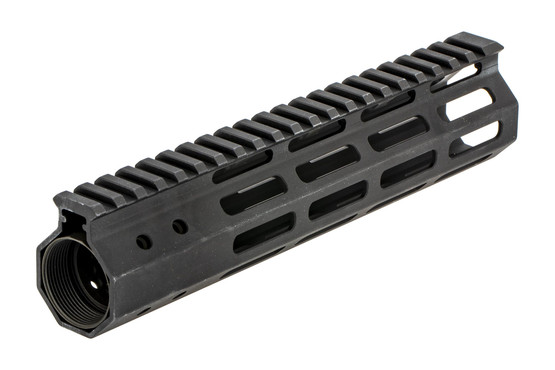 The Foxtrot Mike Products primary arms exclusive free float ar15 handguard comes with a barrel nut