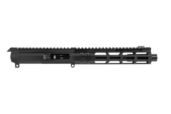 FM Products FM9 Complete AR upper reciever features an M-LOK free float handguard