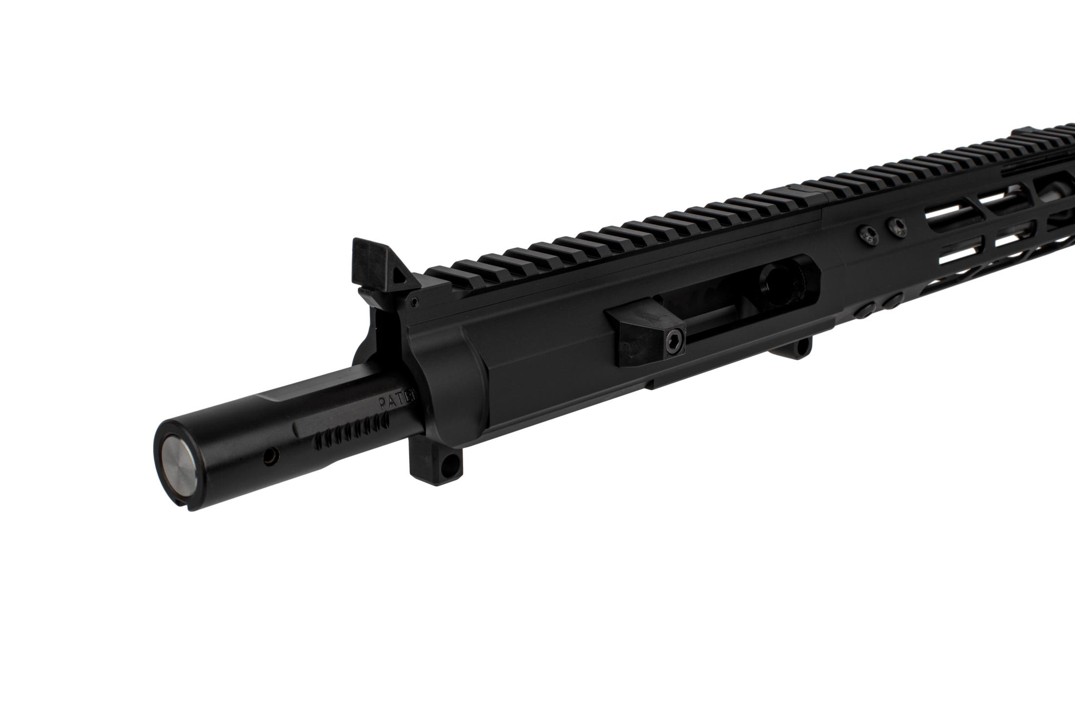 "Foxtrot Mike Products Complete 9mm AR Upper 7 Glock Style - 8.75"" M-LOK Rail - Blast Diffuser"