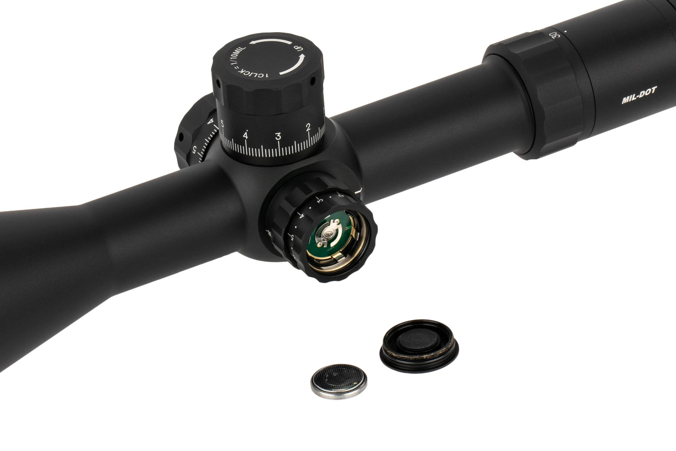 Primary Arms PLx 6-30x56mm FFP Rifle Scope - Illuminated MIL-Dot