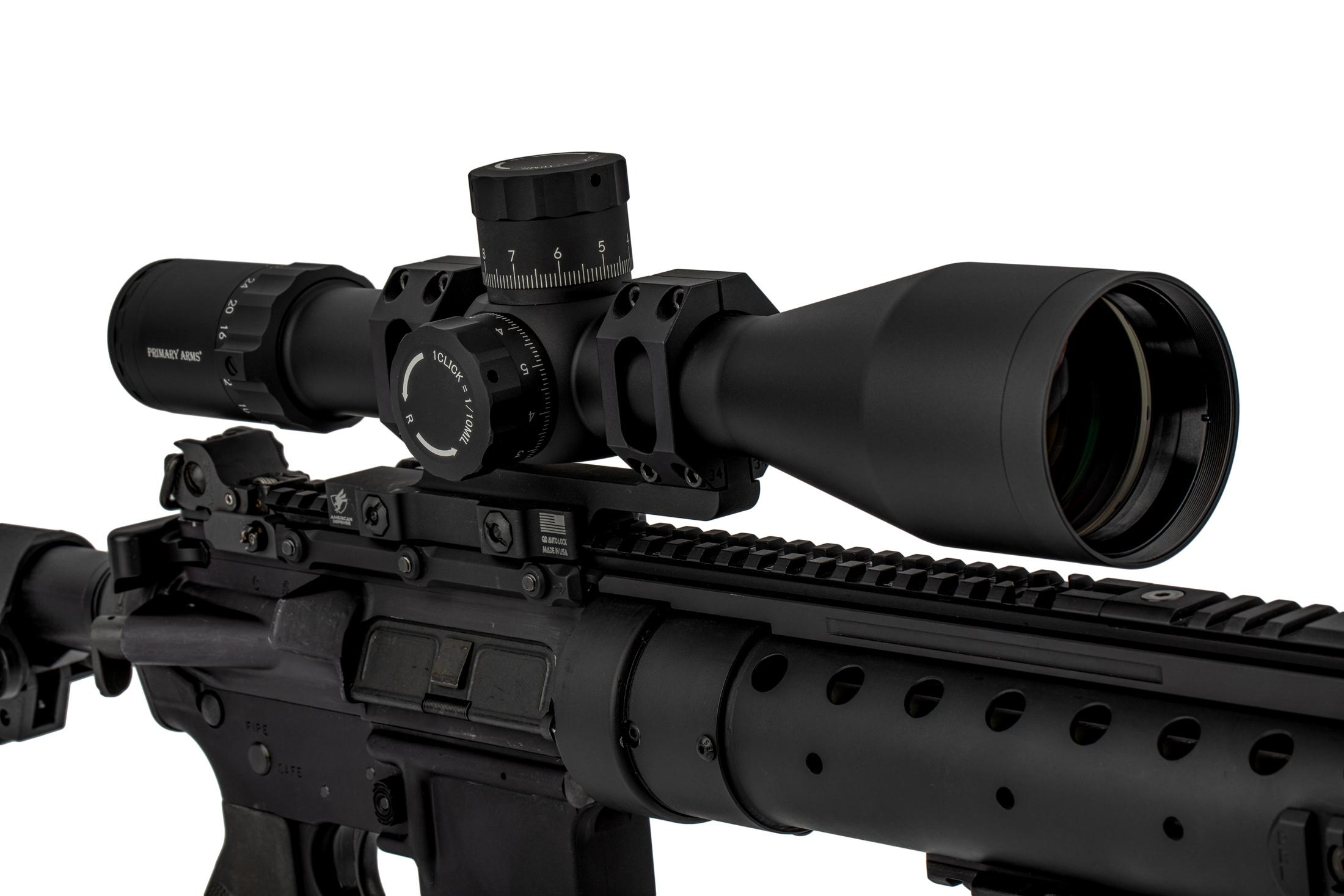 Primary Arms PLx5 6-30x56mm FFP Rifle Scope - Illuminated MIL-Dot