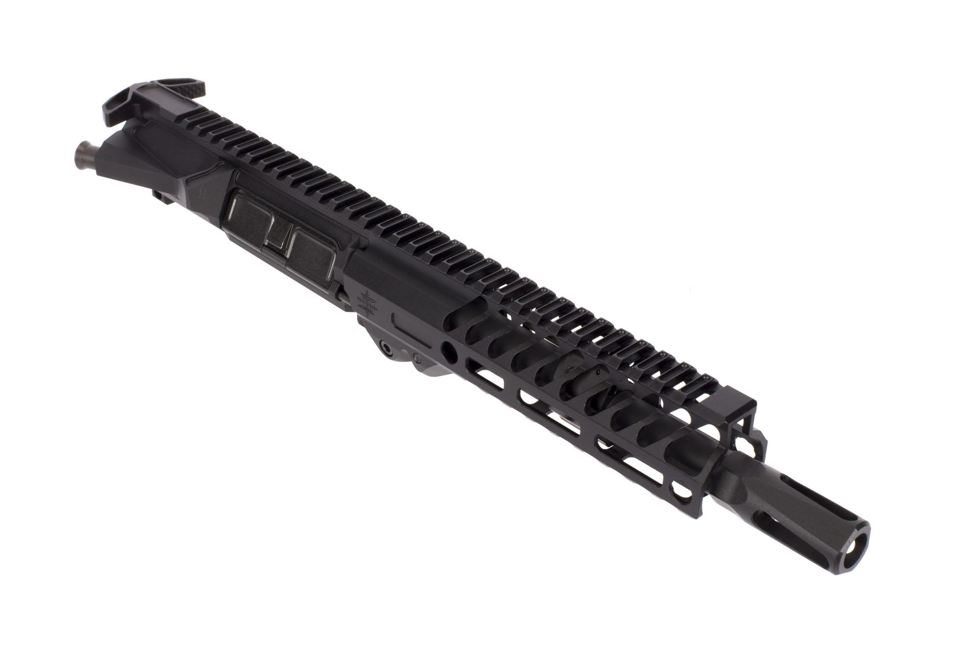 Seekins Precision 8in NX8 300 BLK 1:7 Pistol Length HBAR Complete Upper - 7in NOXs M-LOK Rail
