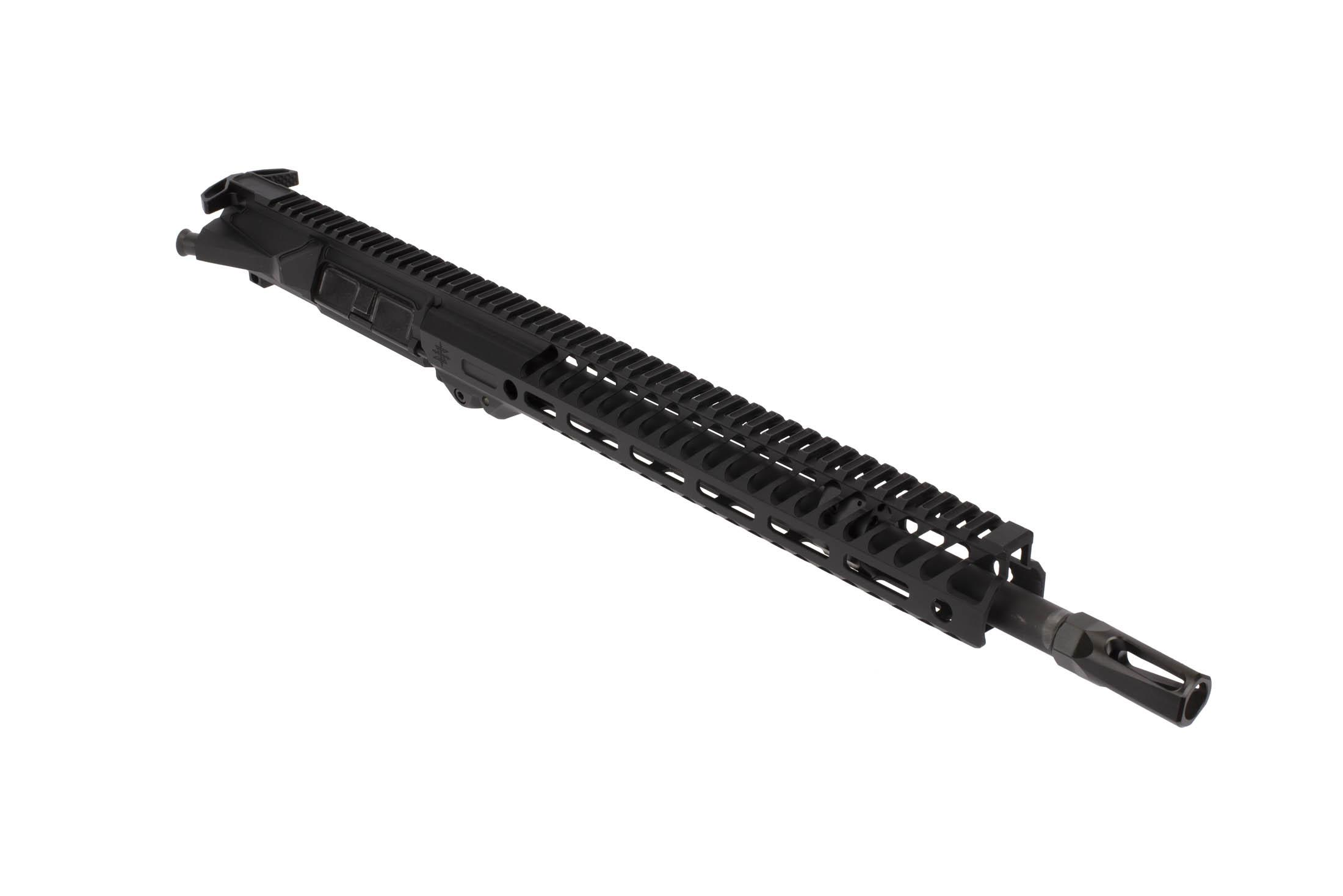 "The Seekins Precision 14.5 NX14 Mid-Length Complete Upper features a 12"" NOXs M-LOK Rail"