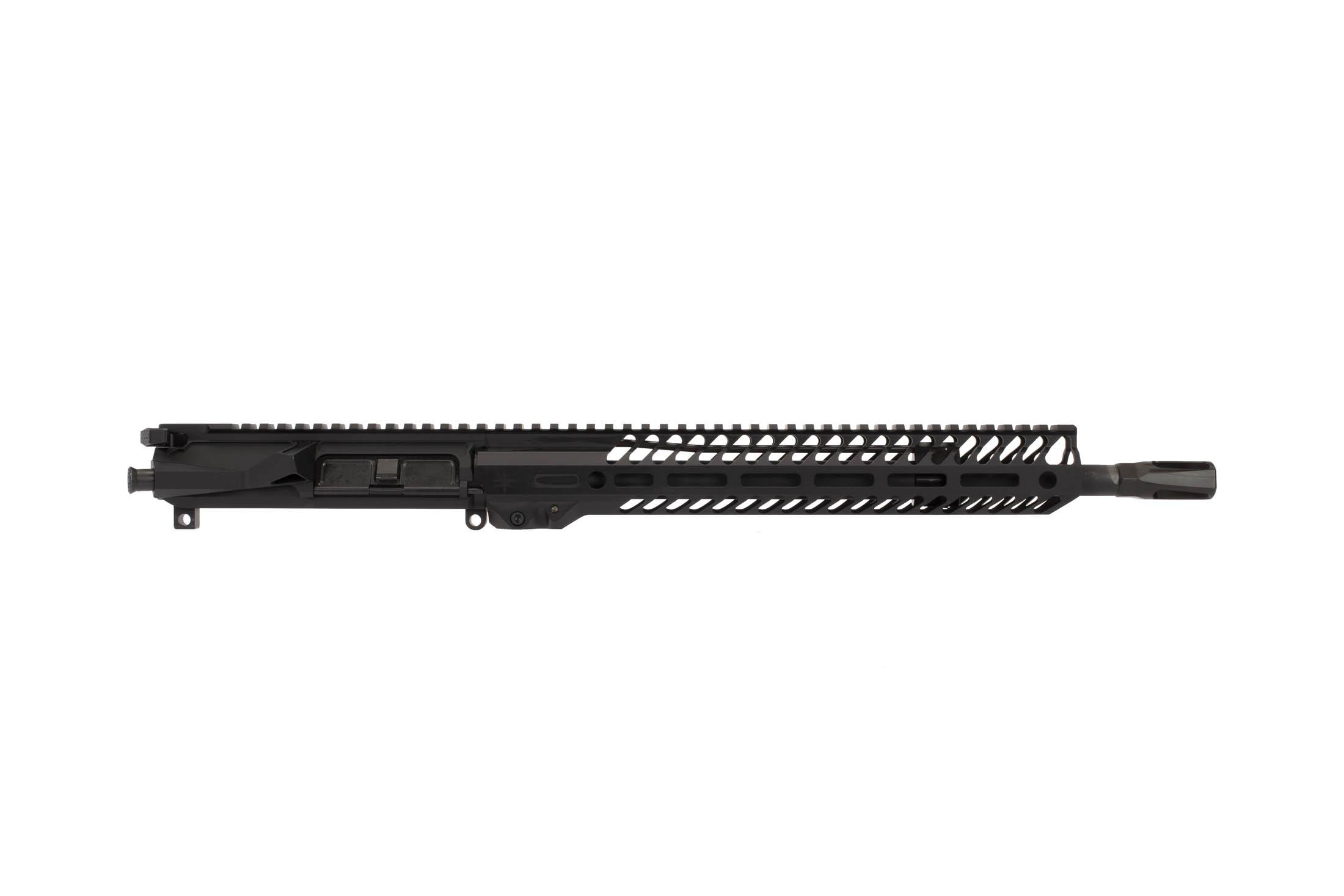 The Seekins Precision 14.5 NX14 Complete Upper is protected by a Type III Class 2 hardcoat anodized finish
