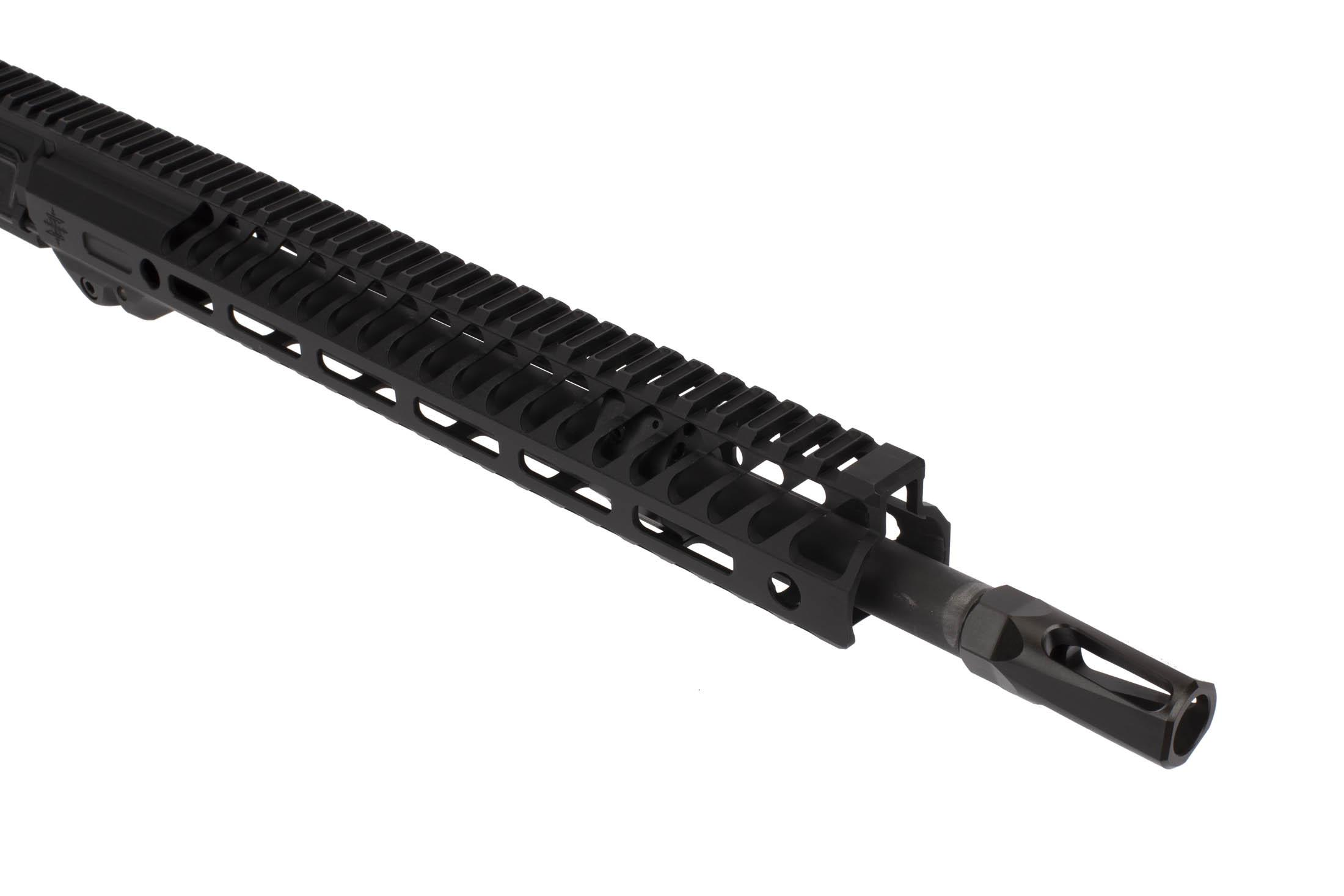 The Seekins Precision 14.5 NX14 includes a Rook Flash Hider