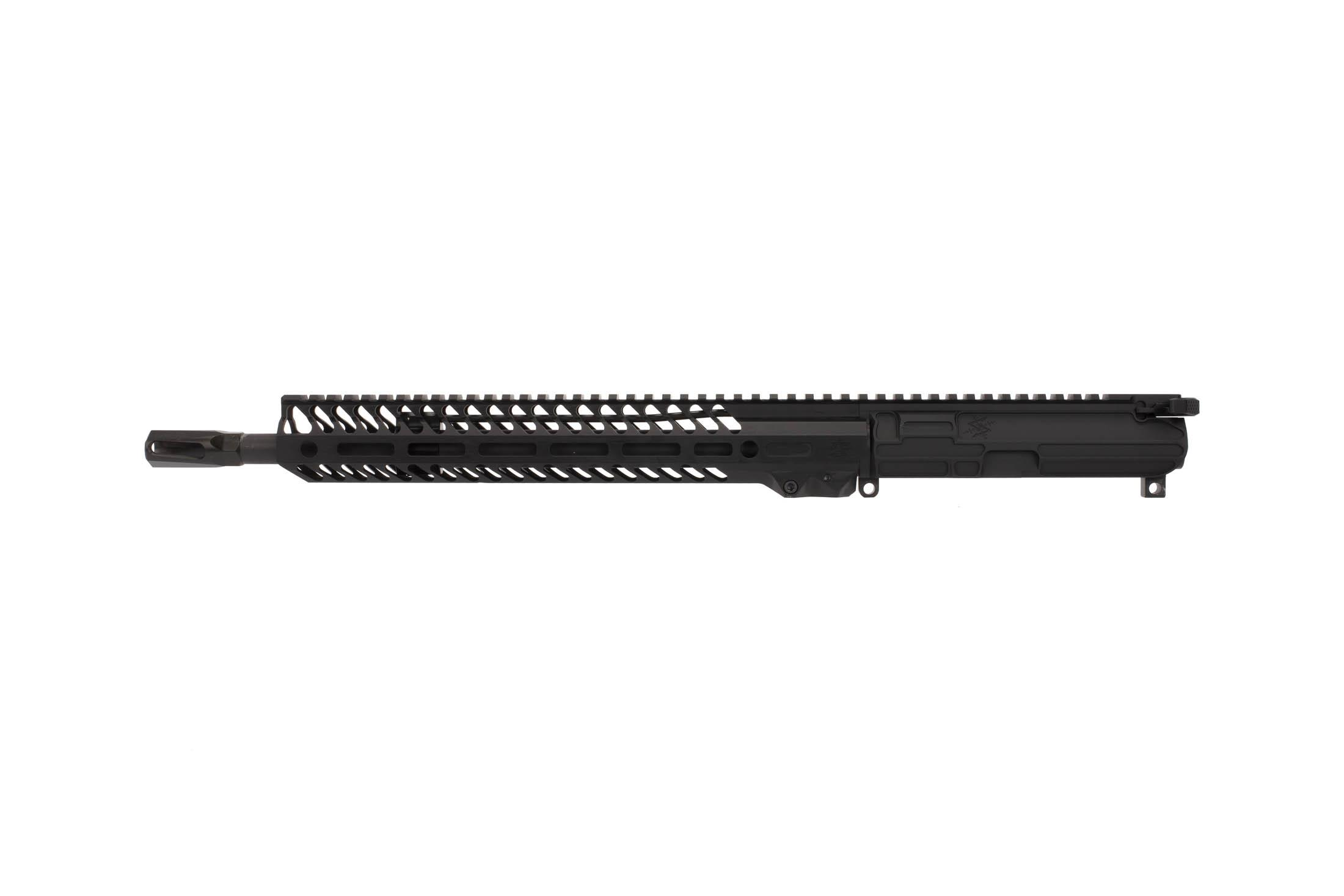 The Seekins Precision 14.5 NX14 Complete Upper is chambered in .223 Wylde with a 1:8 twist
