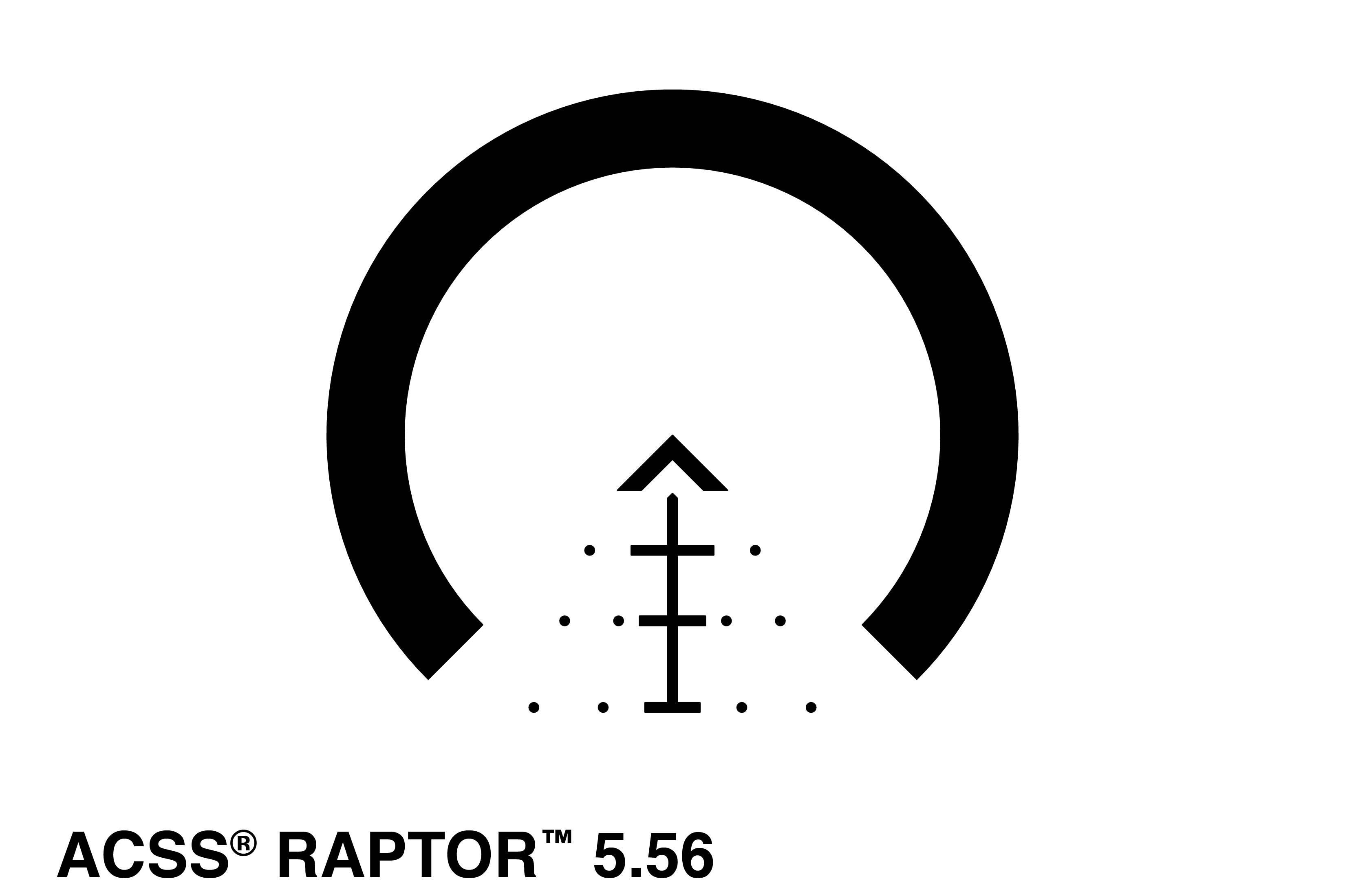Primary Arms 1-6x24mm First Focal Plane glass etched ACSS Raptor 5.56 Reticle - No illumination
