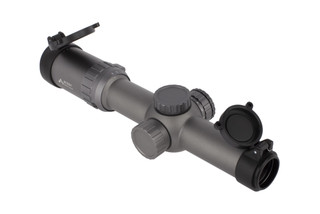 Primary Arms Gen III second focal plane 1-6x variable power rifle scope equipped with the ACSS 300 BLK / 7.62x39mm reticle and wolf grey finish