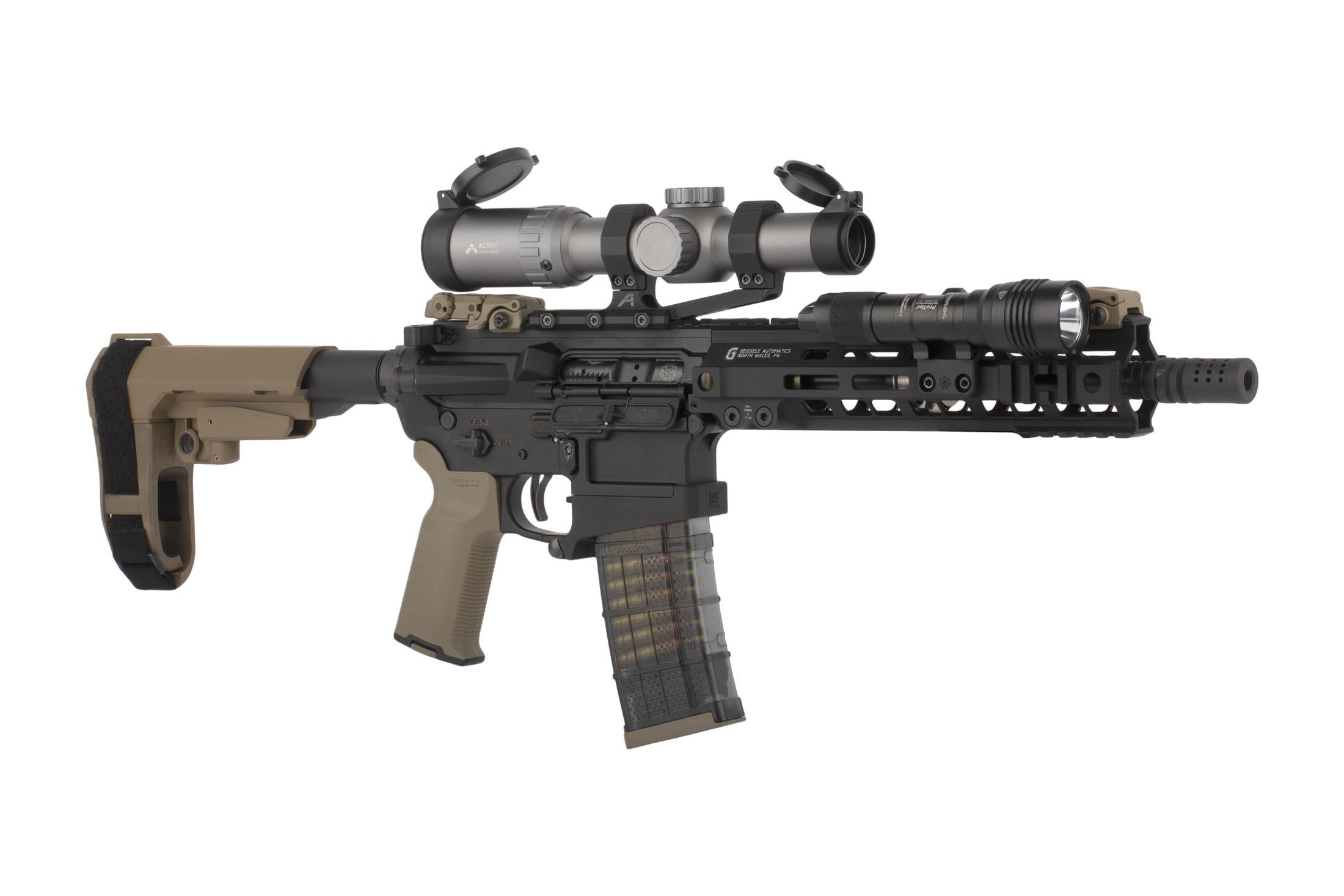 Primary Arms 1-6X24mm SFP Rifle Scope GEN III - Illuminated ACSS 300BLK / 7.62X39 Reticle - Wolf Grey