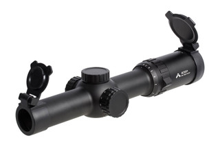 The Primary Arms 1-8x rifle scope with acss reticle is designed for multiple cartridges like 5.56, 5.45, and 7.62