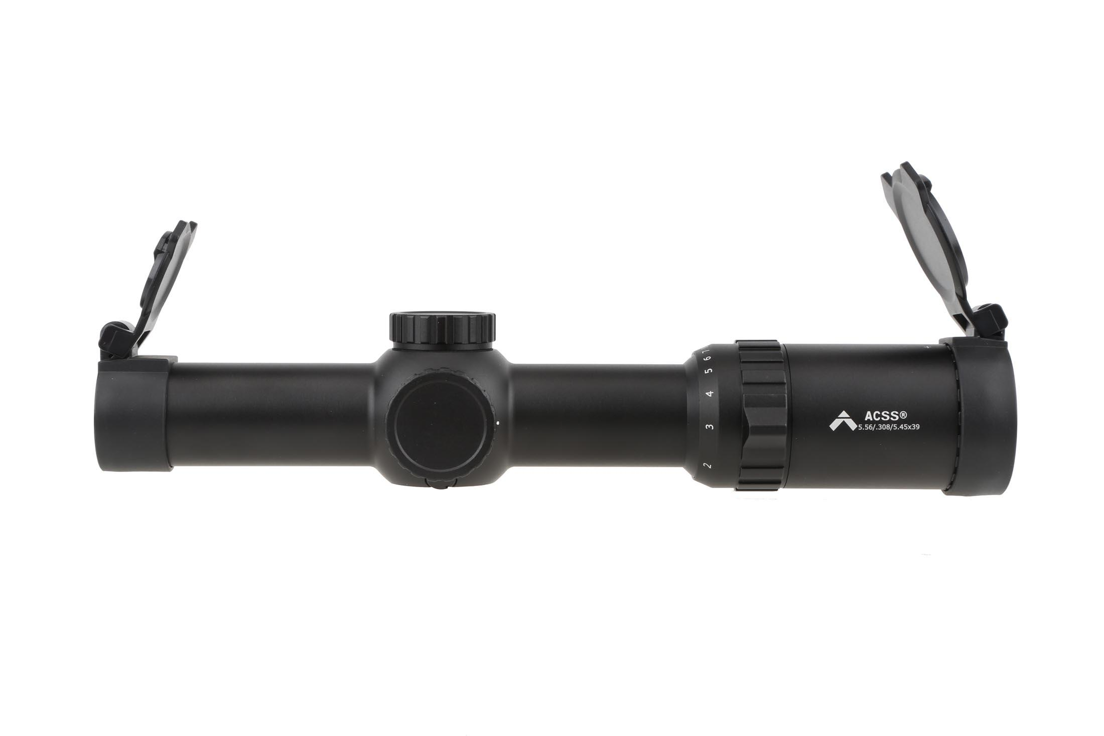 The Primary Arms Optics 1-8x scope has a 30mm tube diameter