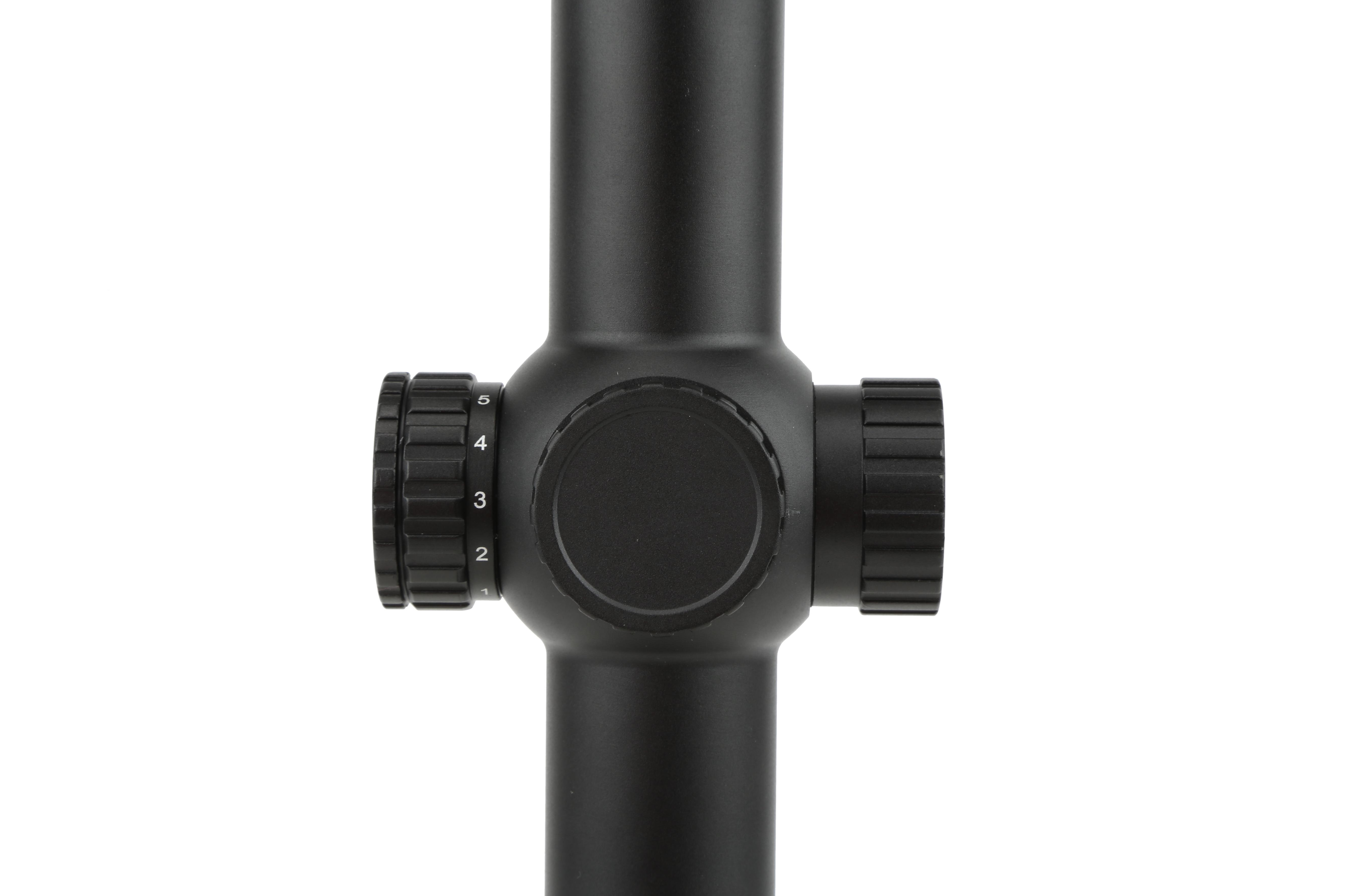 The 1-8x ACSS optic from Primary Arms with illuminated reticle is designed for close to medium range engagements