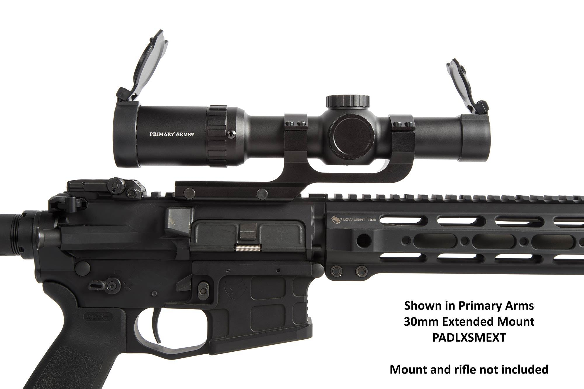 The Primary Arms Scopes with ACSS reticle has auto ranging capabilities
