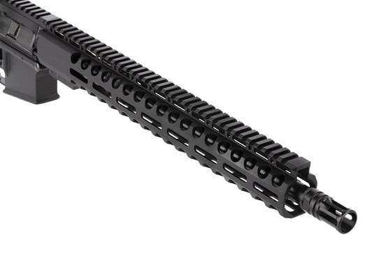 Radical Firearms 16in complete PA exclusive rifle chambered for 300 BLK is threaded 5/8x24 with an effective A2 flash hider
