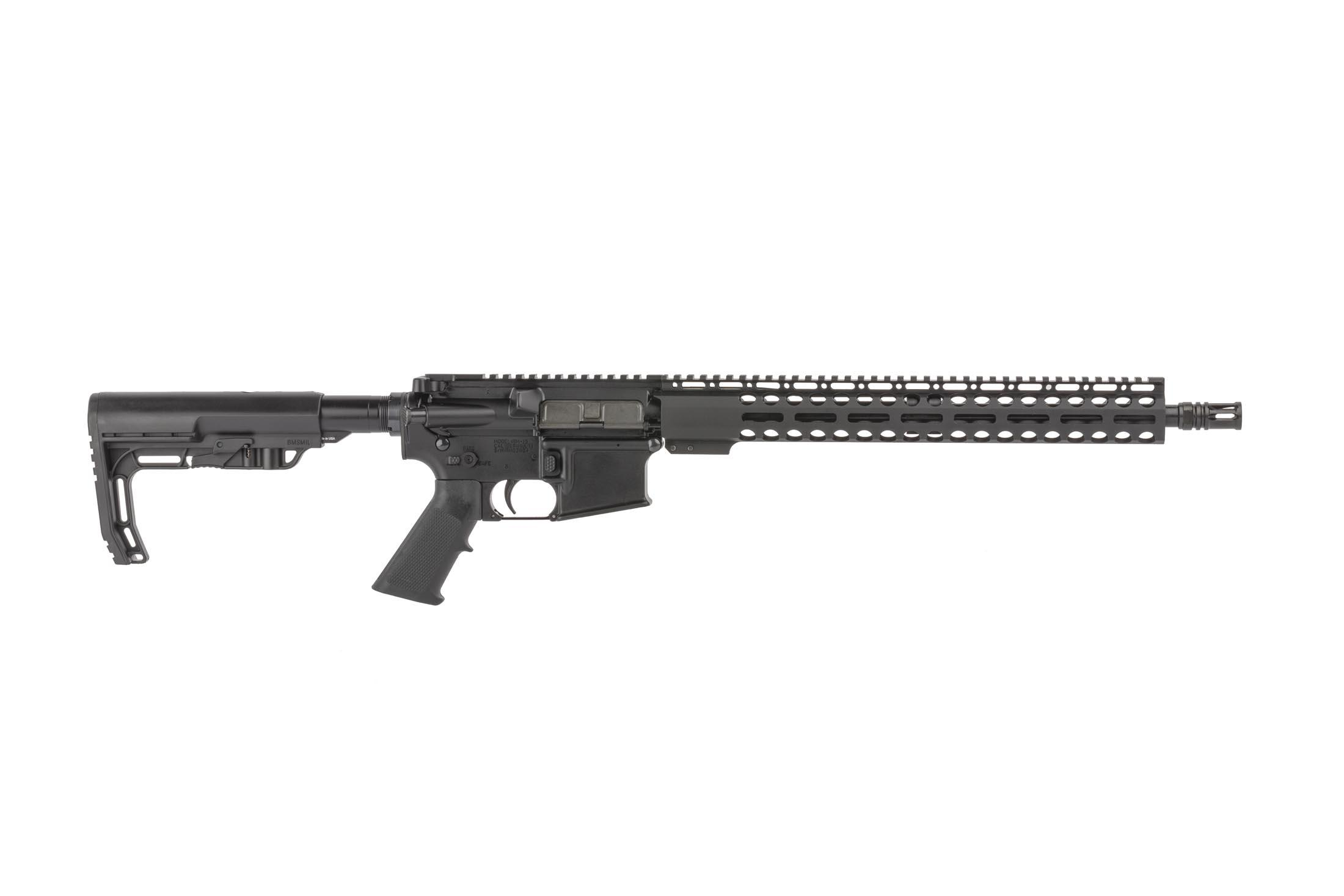 Radical Firearms 16in 7.62x39mm AR-15 rifle has a reliable carbine length gas system and M-LOK handguard