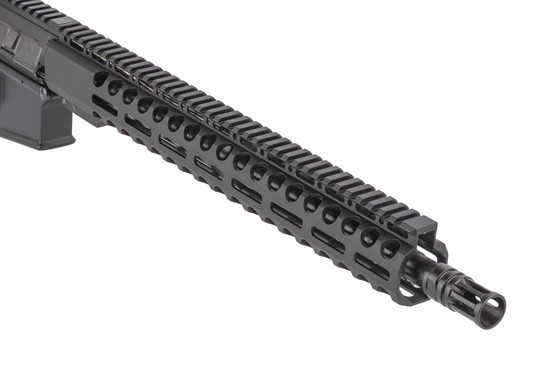 Radical Firearms 16 inch 7.62x39mm AR15 is threaded 5/8x24 with an effective A2 flash hider