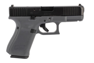 Glock 19 Gen5 MOS 9mm Pistol has a textured grip