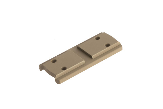 Primary Arms medium height spacer with FDE anodized finish for the compact 1X prism scope provides absolute cowitness