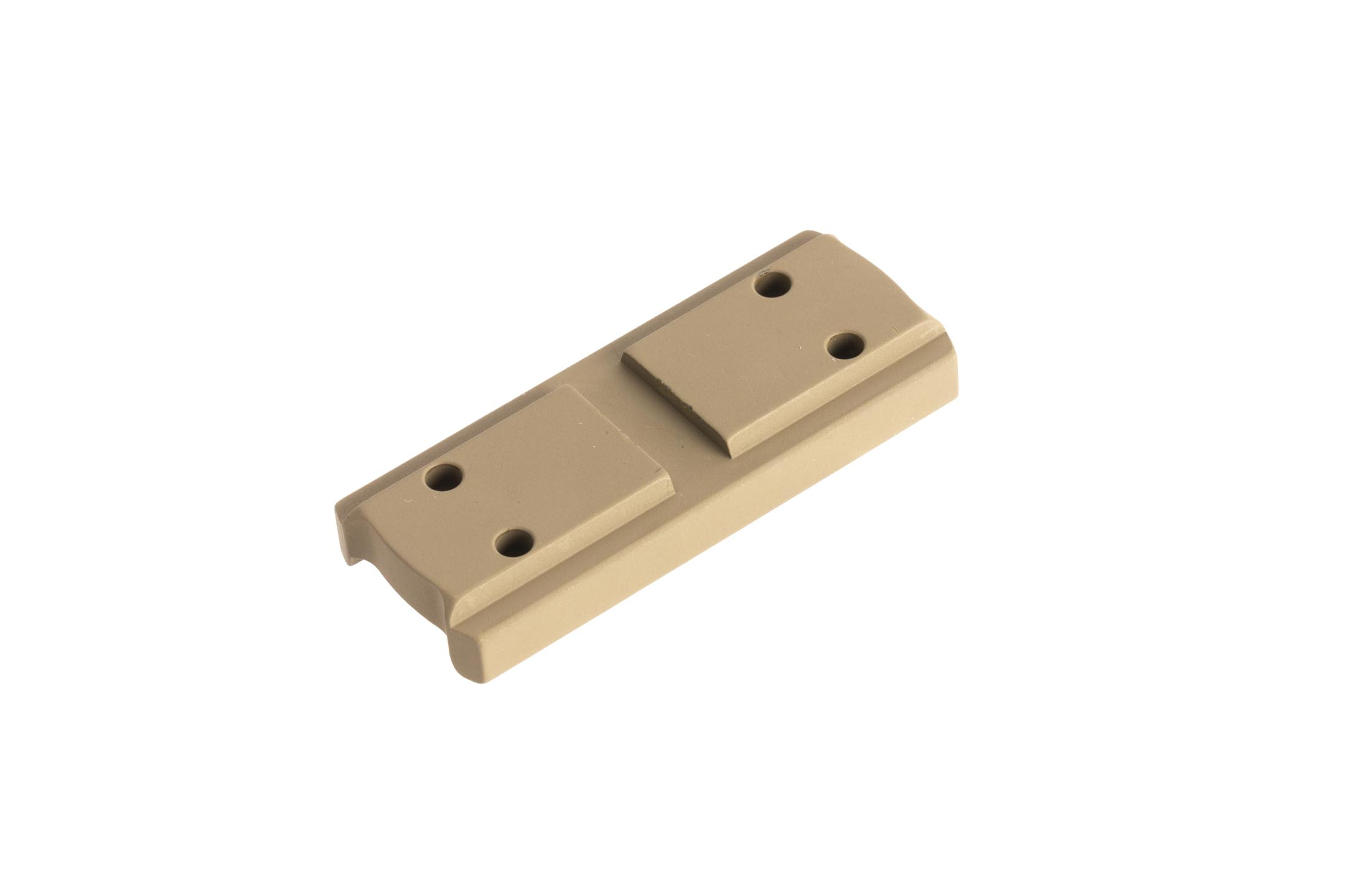 Primary Arms high height spacer with FDE anodized finish for the compact 1X prism scope provides lower 1/3rd cowitness