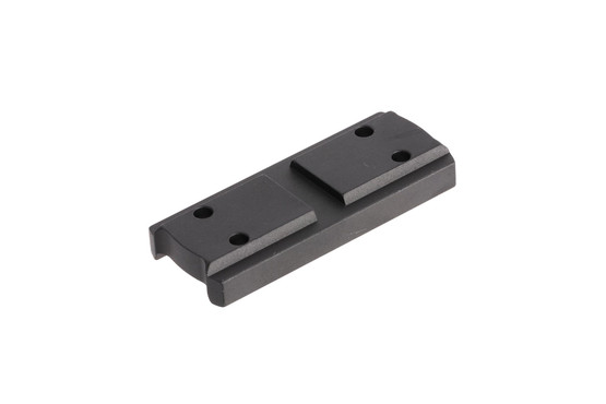 Primary Arms high height spacer with black anodized finish for the compact 1X prism scope provides lower 1/3rd cowitness