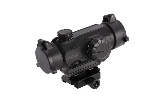 "Primary Arms black anodized finish high height 1x Prism scope spacer provides a 1.64"" central height for lower 1/3rd cowitness"